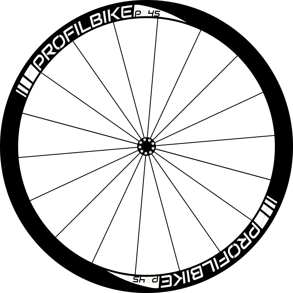 Profilbike PB45 CARBON DISC design personnalisé