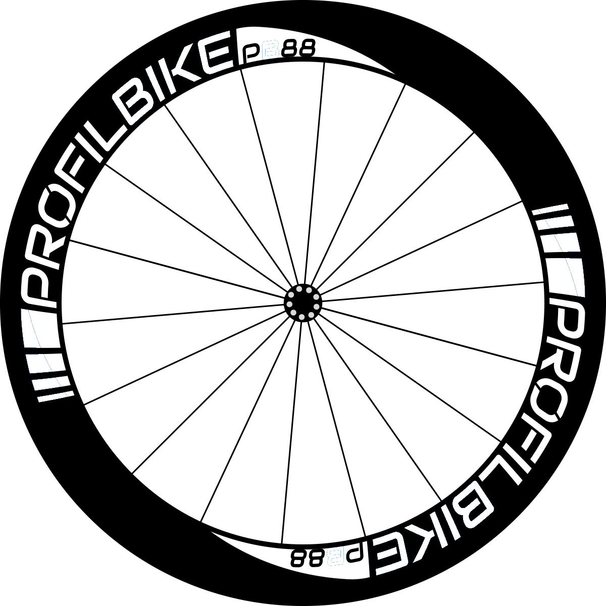 Profilbike PB88 CARBON design personnalisé