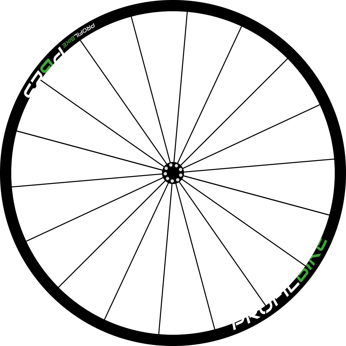 Profilbike PB25 CARBON DISC design vert