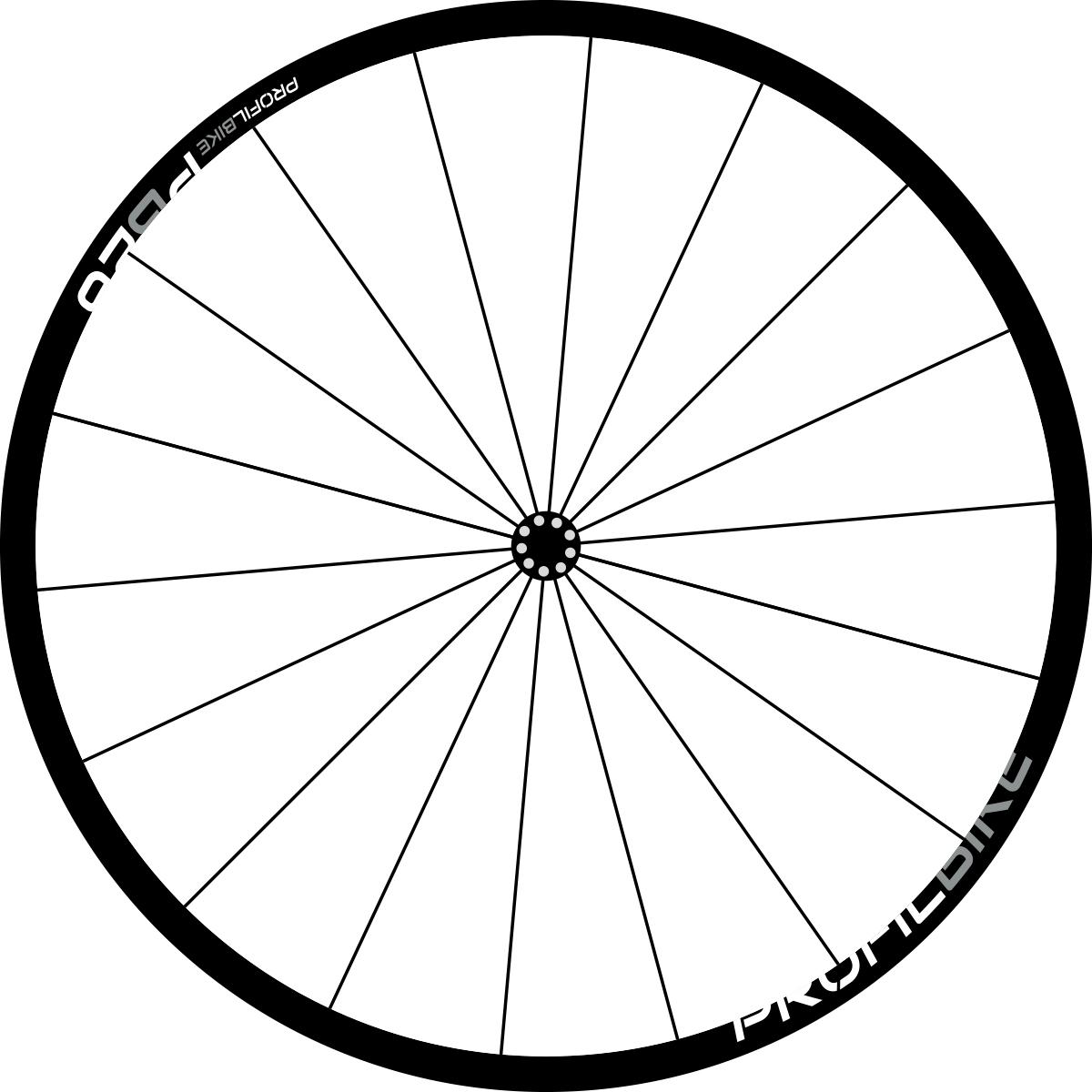 Profilbike PB26 ALU DISC design argent