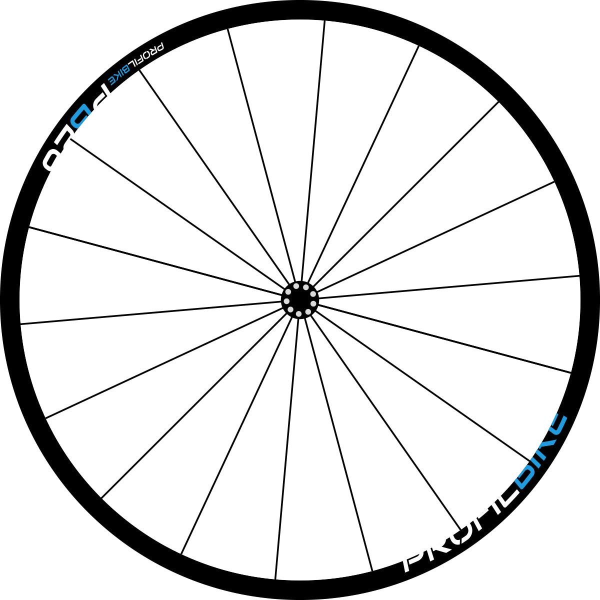 Profilbike PB26 ALU DISC design bleu