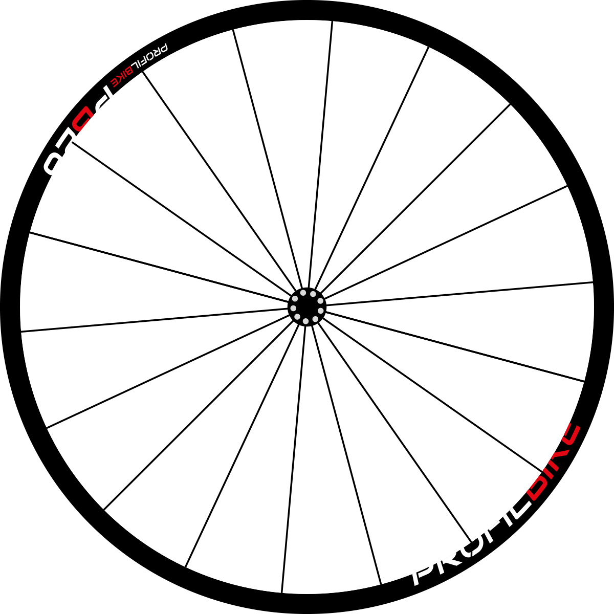 Profilbike PB26 ALU DISC design rouge