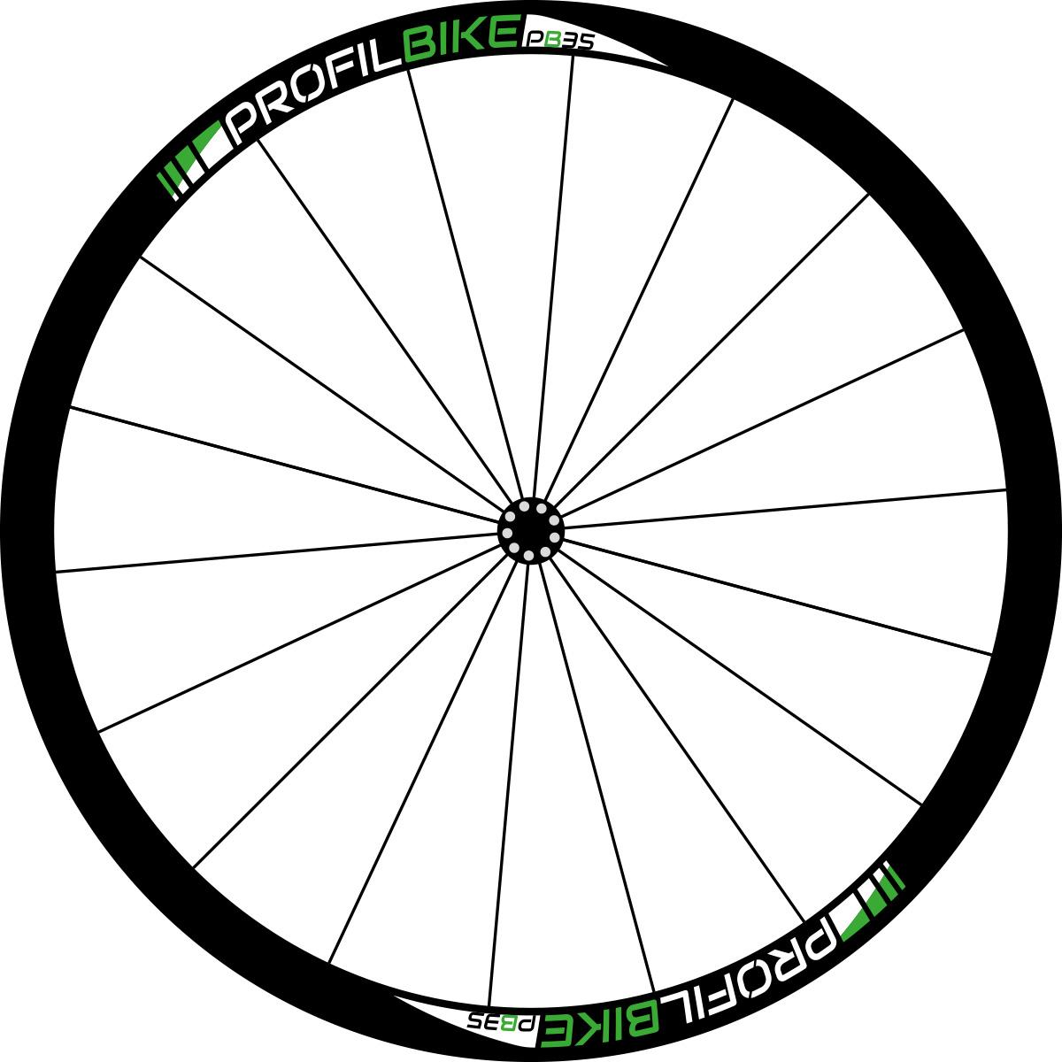 Profilbike PB35 CARBON DISC design vert