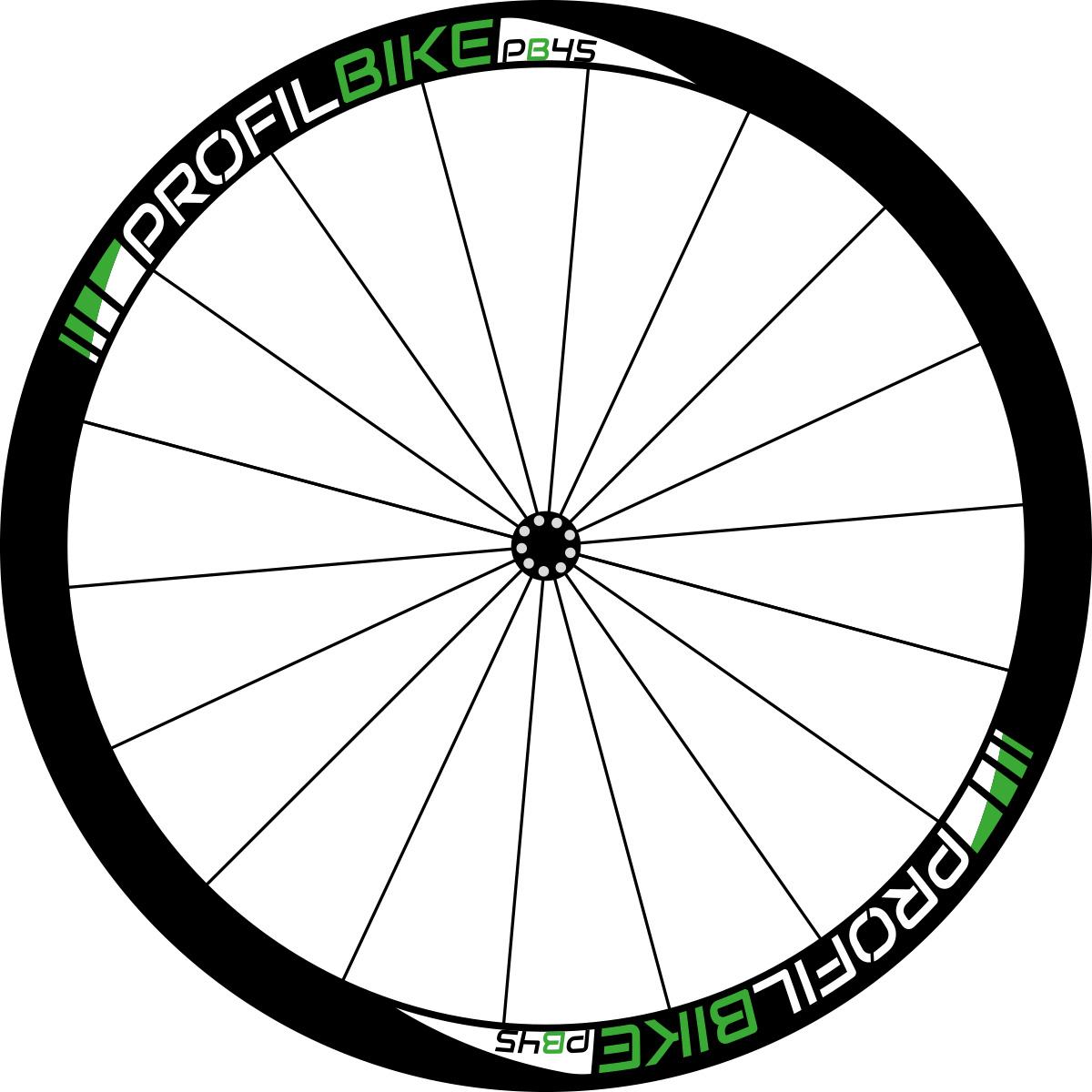 Profilbike PB45 CARBON DISC design vert