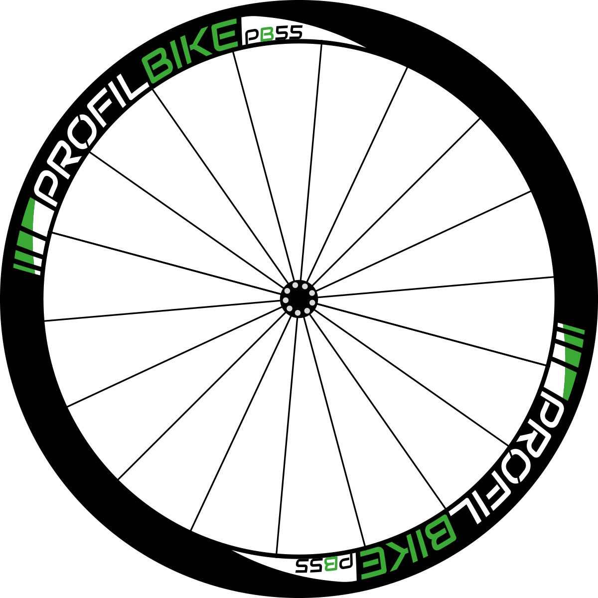 Profilbike PB55 CARBON design vert