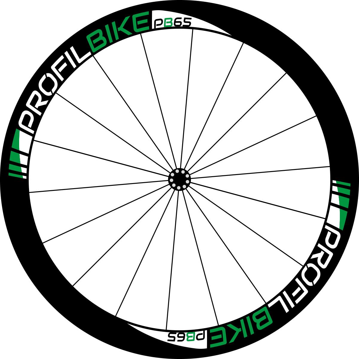 Profilbike PB65 CARBON design vert