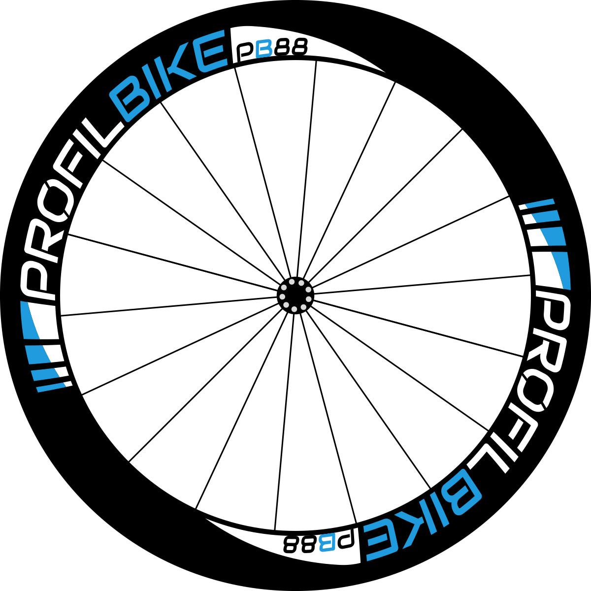 Profilbike PB88 CARBON design bleu