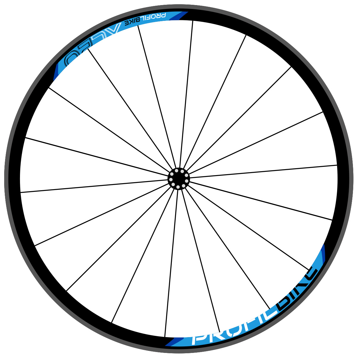 Profilbike XC20 design bleu
